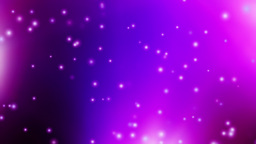 Purple Particles Animation