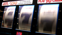 Real slot machine Stock Video Footage