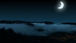 Night mountains Stock Video Footage
