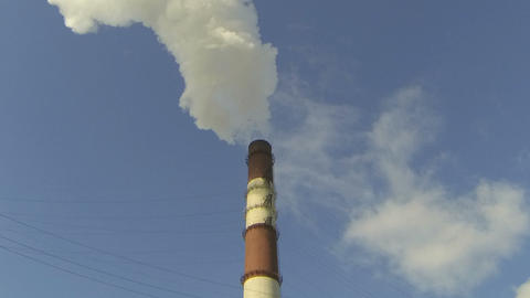 smokestack Stock Video Footage