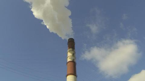 smokestack Stock Video Footage
