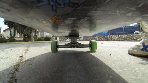Sport Skateboard skateboarding low POV happy fun enjoyable exercise activity Live Action