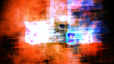 mosaic hardlights grunge Stock Video Footage