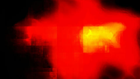 red glowing grunge Animation