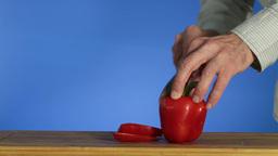 Sweet pepper Footage