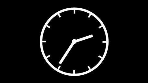 Clock Time Lapse, loop, HD Animation