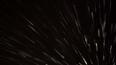 Blizzard at night Footage
