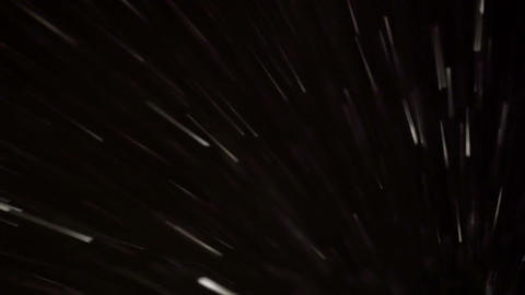 Blizzard at night Stock Video Footage