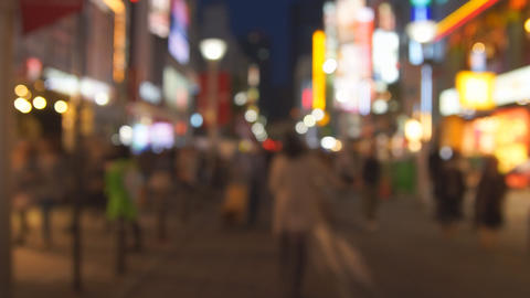 People in the big city Stock Video Footage