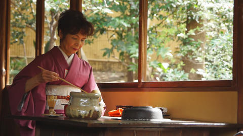 Tea ceremony Stock Video Footage