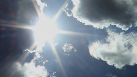 Clouds and Sun Footage