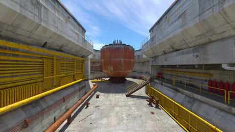 Industrial tank Animation