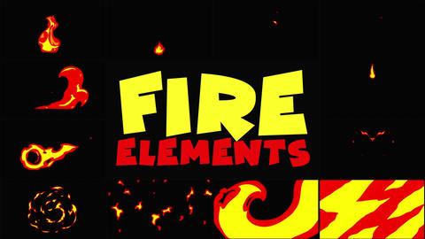 Fire Pack After Effects Template