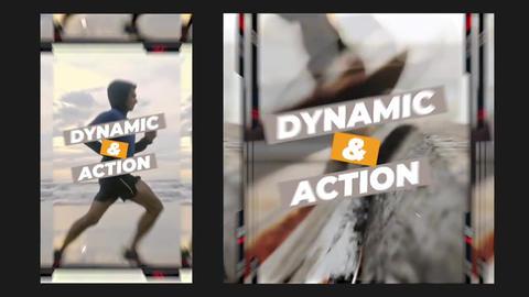 Dynamic Instagram Opener - Vertical Dynamic Instagram Opener Apple Motion Template