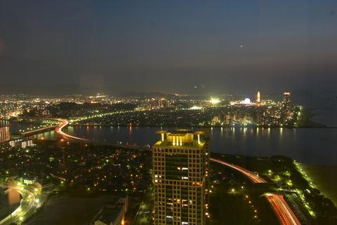 Fukuoka tower Aerial view