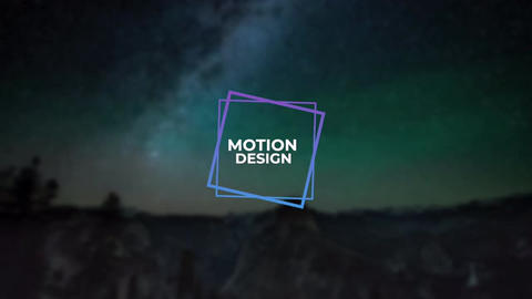 Modern Titles Apple Motion Template