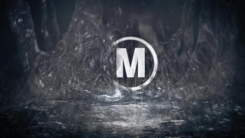 Water Splash/Drop Logo After Effects Template