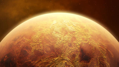 Space (Sun Earth Moon Meteorite...). Realistic Video. 1