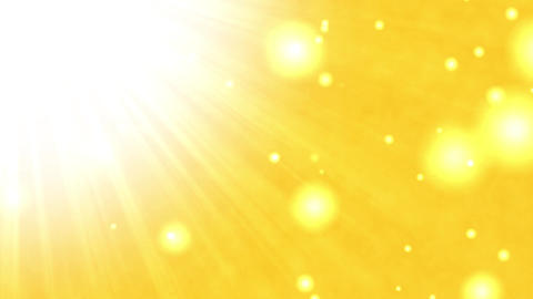 Sun light gold background (loopable) Animation