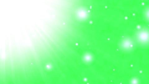 Sun light green background (loopable) Animation