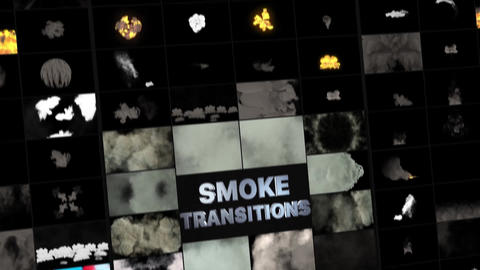 Real Smoke Transitions Apple Motion Template
