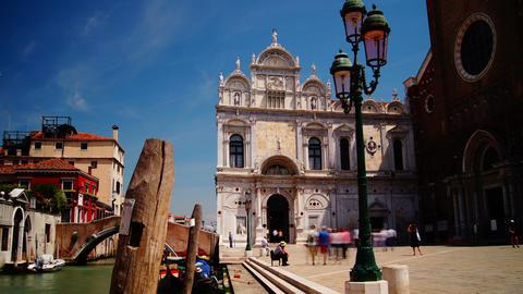 The Basilica di San Giovanni e Paolo,Venice, time Footage