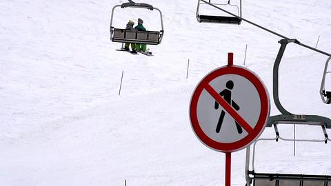 Ski Holidays HD Stock Video Footage