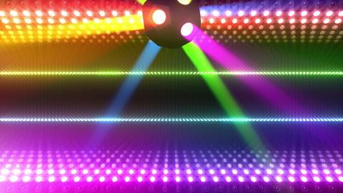 LED Wall 2 W Db O 2m HD Stock Video Footage