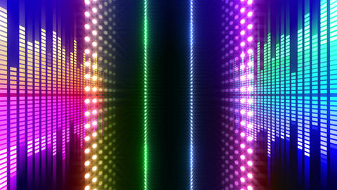 LED Wall 2 W Db O 4m HD Stock Video Footage