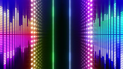 LED Wall 2 W Db O 4m HD Stock Video Footage