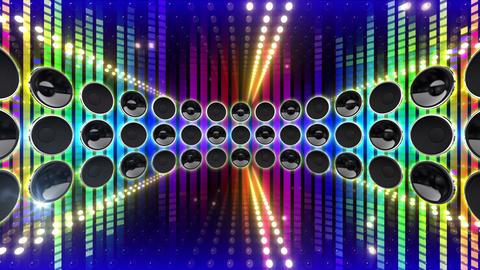 LED Wall 2 W Db Y 2m HD Stock Video Footage