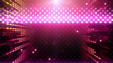 LED Wall 2 W Hb Tm HD Stock Video Footage