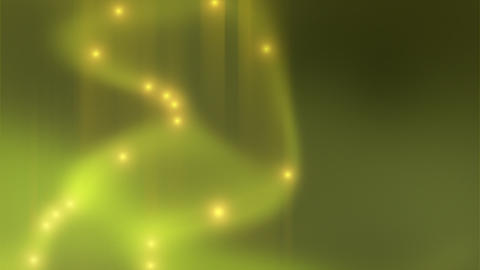 Green Flow Animation Loop Stock Video Footage