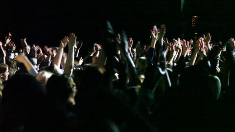 Concert crowd Footage