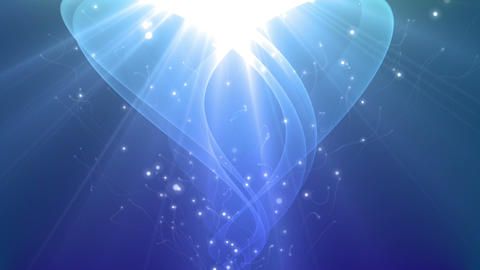 Energia - Rising Light / Energy Video Background Loop Stock Video Footage