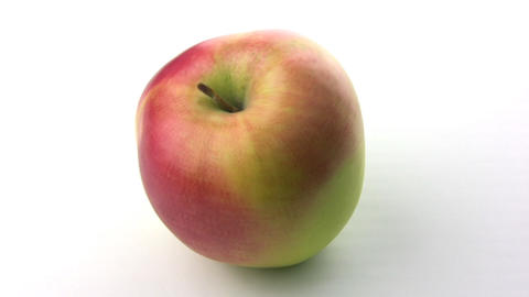 Rotation Of The Apple stock footage