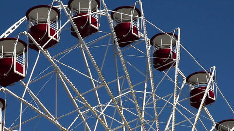 Ferris Wheel stock footage