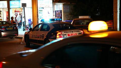 Police siren Stock Video Footage