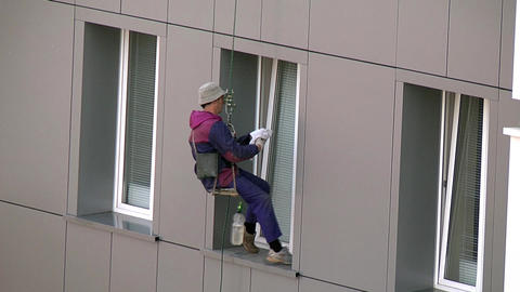 Window cleaning Footage