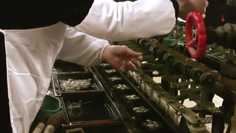 Silk factory Stock Video Footage