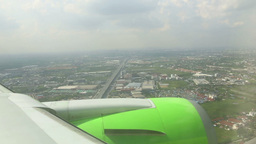 Arriving to Bangkok Stock Video Footage