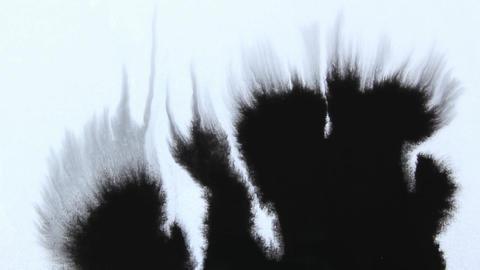 Black Ink Stock Video Footage