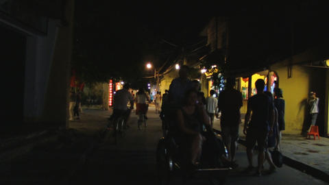 asia city at night Stock Video Footage