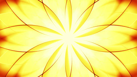 Abstract floral background, gold tint Stock Video Footage