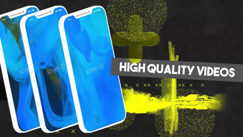 Grunge App Promo After Effects Template