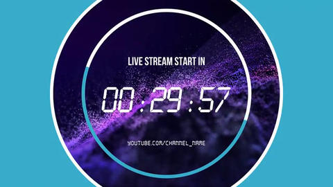 Timers for live streaming