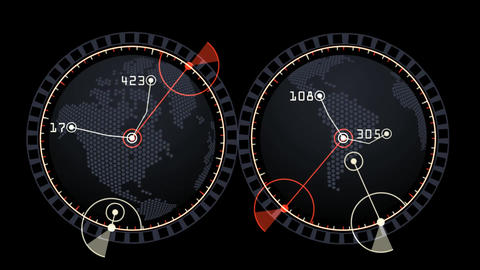 GPS,earth map,city map,military Radar GPS screen display,navigation interface Animation
