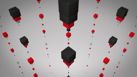 flying red box Animation