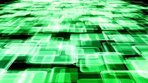 Abstract green communication background Animation