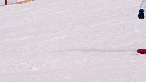 Snowboarders HD Stock Video Footage